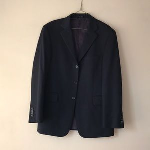 J Crew 100% Laine Wool Long Sleeve Blazer Mens 40R